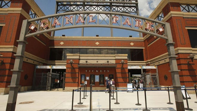 Amid declining COVID-19 cases statewide, Canal Park stadium in downtown Akron will be allowed to host 30% of its 7,630 capacity when Akron RubberDucks baseball returns in April under a plan announced Monday by Ohio Gov. Mike DeWine.