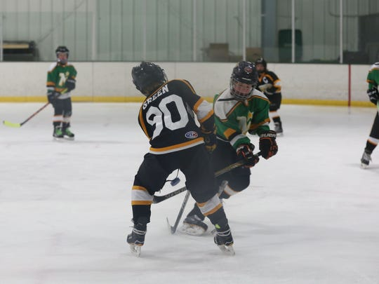 During a tournament at Rochester Ice Center on Sunday,
