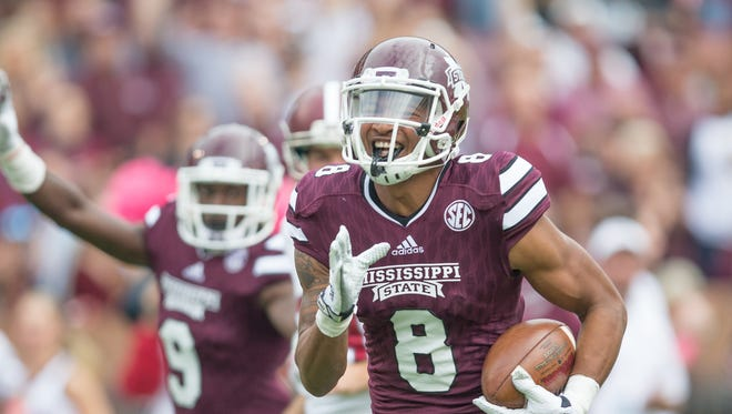 Mississippi State receiver Fred Ross has been limited in practice but has still found ways to improve for the season.