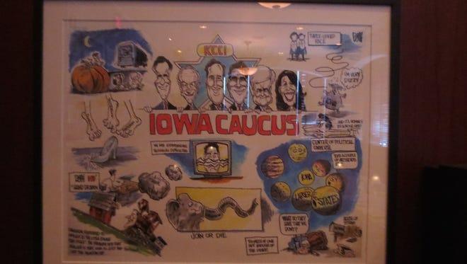 The Caucus Room inside 801 Chophouse