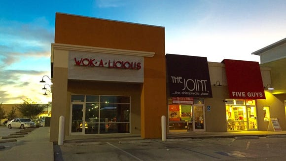 Wok-A-Licious is now open, located at  4302 Ambassador