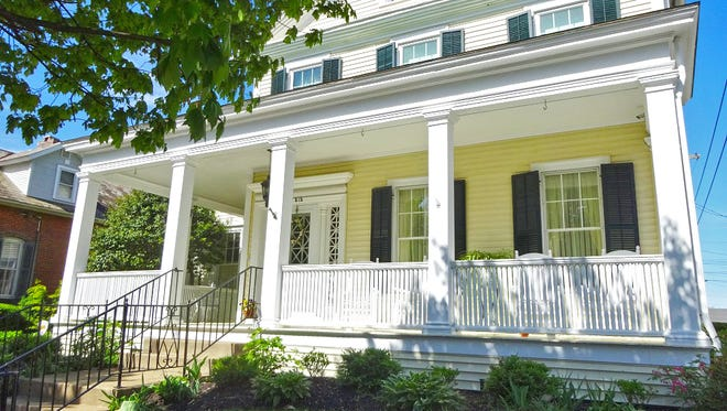 This home at 515 N. Broad St. was built in 1870 and has been in the Peters/Smith family since 1902. It will be a part of next weekend's Fairfield Heritage Association's 48th Tour of Homes event.