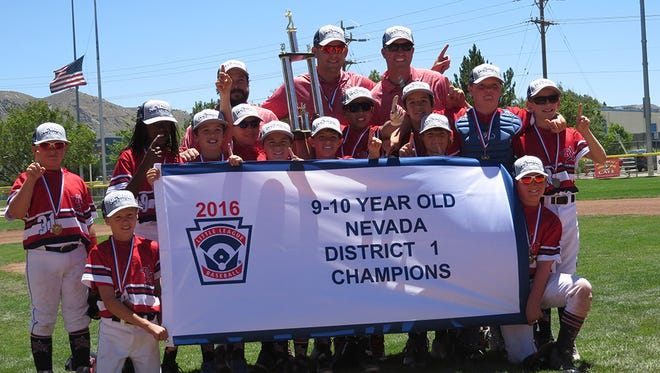 In the 9/10 age division, managed by Andy McDowell, Reno American beat Truckee 16-6.