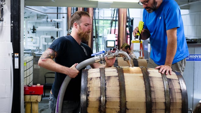 Cardinal Spirits, Bloomington's first artisan distillery, opened in February 2015, and remains one of only a handful of Indiana distilleries where everything is made from scratch, in-house.