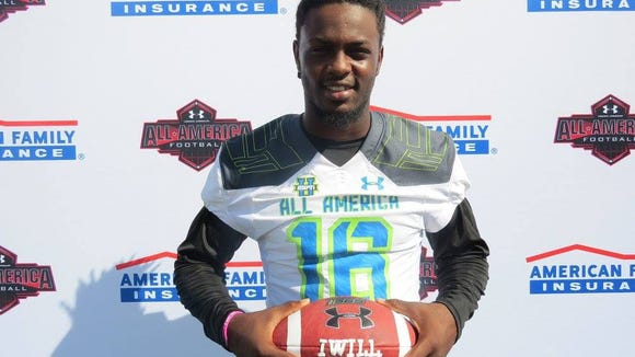 Auburn freshman Woody Barrett was an Under Armour All-American selection in 2015 after being a four-star prospect out of Orlando, Florida.