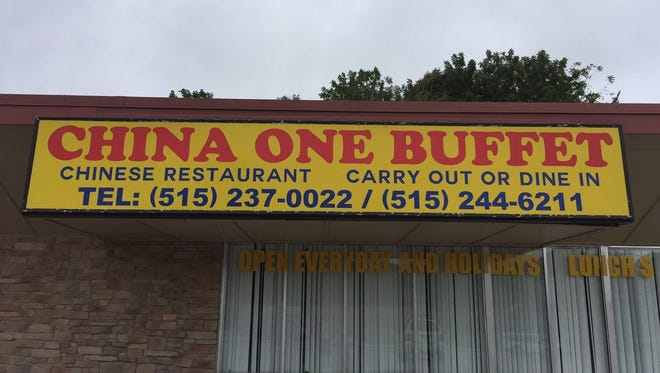 China One Buffet has opened in the former Ming Dynasty space on Southwest Ninth Street in Des Moines.