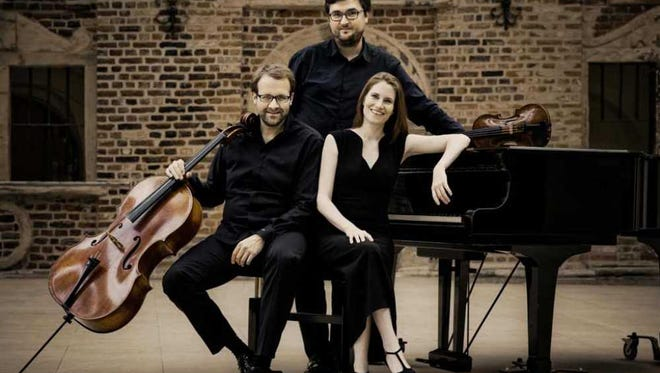 The Cranbrook Music Guild presents the Morgenstern Trio performing an ambitious program at 7:30 p.m. Wednesday, Feb. 15.
