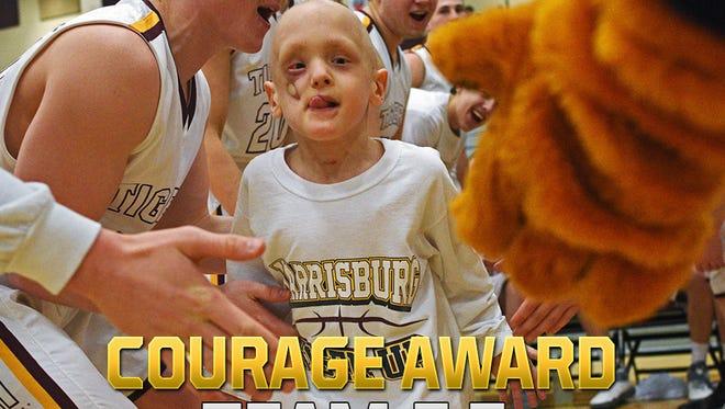 Courage Award, Team E.Z. (Harrisburg boys basketball)