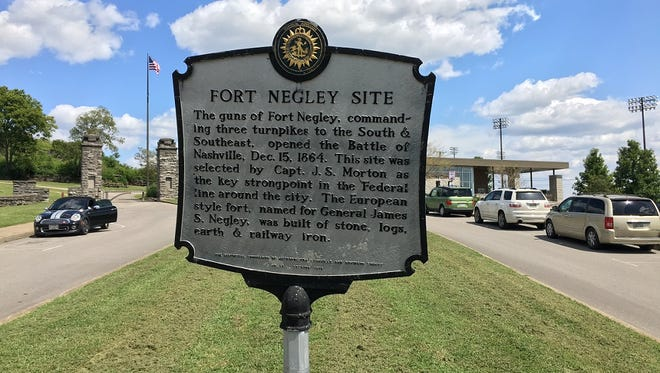 Tour of Fort Negley, Sept. 6, 2017.