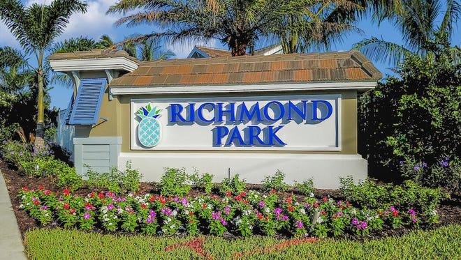 Richmond Park is a new community by Neal Communities at the corner of Immokalee Road and Woodcrest Drive, east of Collier Boulevard.