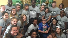 Snapple Bowl XXV: Union County players, cheerleaders bring pep rally Children's Specialized Hospital