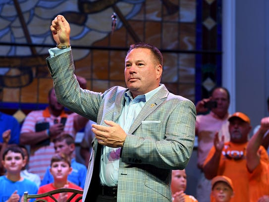 University of Tennessee Head Football Coach Butch Jones