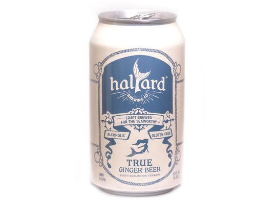 True Ginger Beer from Halyard Brewing Company in South