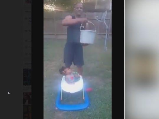 'Ice bucket challenge' baby