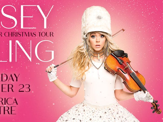 Lindsey Stirling Warmer in the Winter Christmas Tour