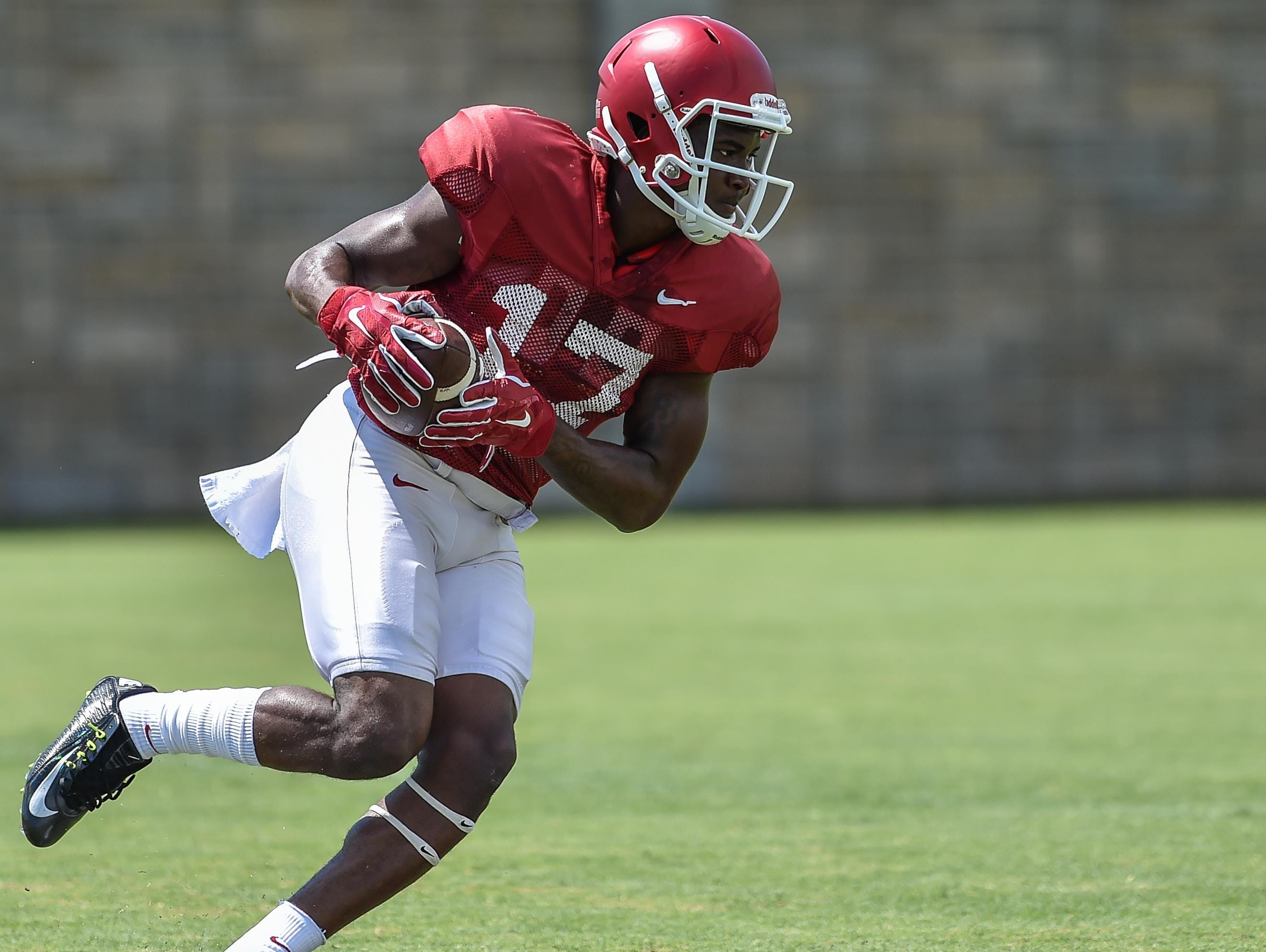 Arkansas' talented redshirt freshman wide receiver JoJo Robinson was officially reinstated to the team on Monday by head coach Bret Bielema.
