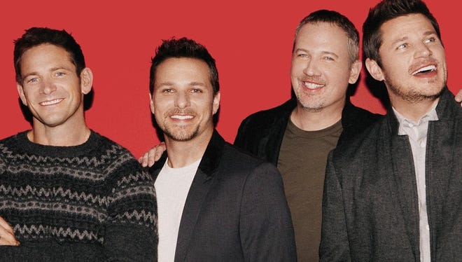98 Degrees perform a special benefit show Dec. 15.
