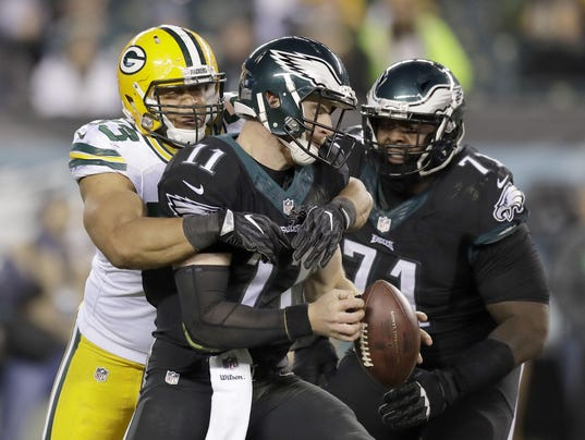 Green Bay Packers vs. Philadelphia Eagles