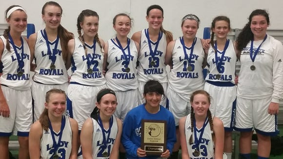 The Western North Carolina Lady Royals eighth-grade basketball team won last weekend's Under Armour state championship tournament in Greensboro.