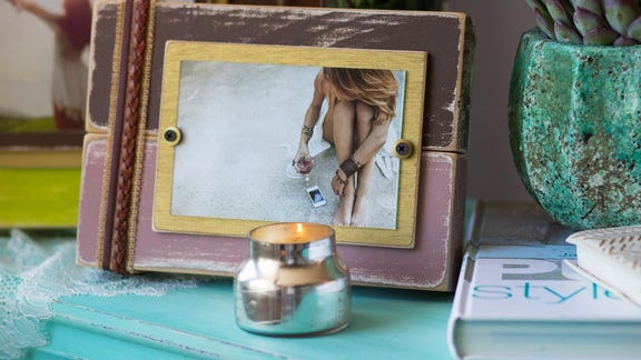Beyond Popsicle sticks: Tips for DIY picture frames