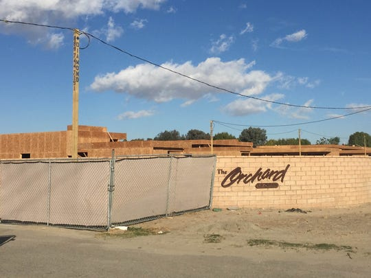 The Orchard, a neighborhood under construction on Madison Street between Avenues 51 and 52.