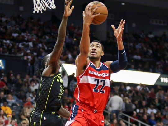Washington Wizards forward Otto Porter Jr. (22) shoots