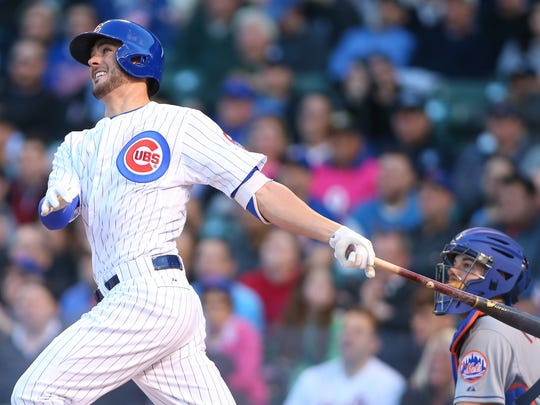 Kris Bryant hit 26 home runs and drove in 99 runs in