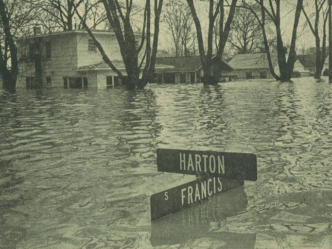 How To Buy A Car Out Of State >> Lansing's flood of 1975