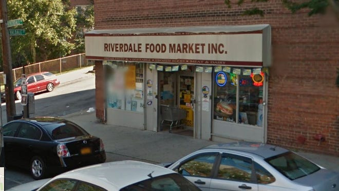 The Riverdale Food Market in Yonkers was fined $2,500 for illegal gambling on April 7, 2015.