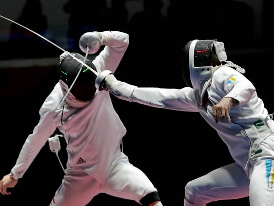 Olympics: Fencing