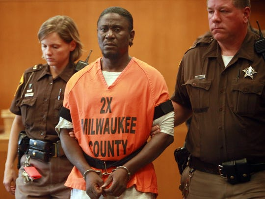 Walter Ellis, who was convicted of seven murders, is shown in court in this file photo.