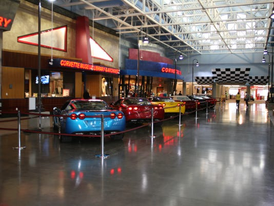 Vette Museum Delivery