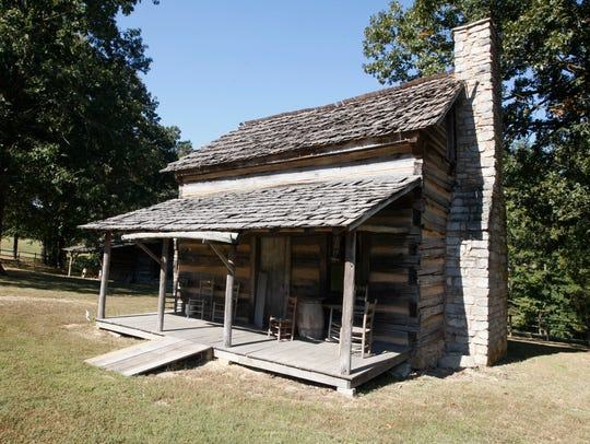 Historic Collinsville's 18 buildings step back to the 1830s era.