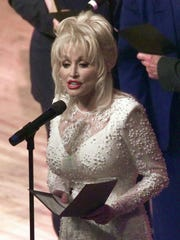 Country music legend Dolly Parton performs in Nashville,