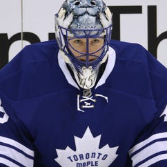 Jonathan Bernier has struggled this season with a .888 save percentage in nine games.