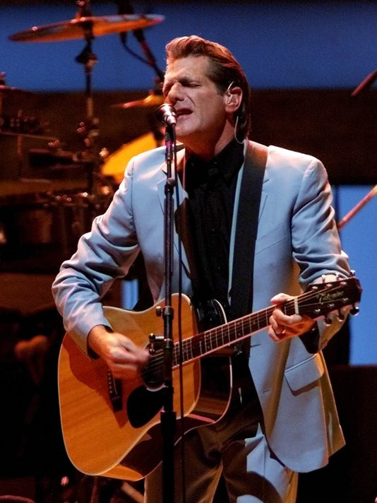 GLENN FREY OF THE EAGLES PERFORMS TO SOLD OUT CROWD IN DALLAS