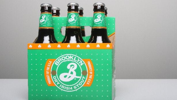 dry irish stout by brooklyn brewery