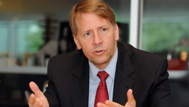 Richard Cordray, head of the Consumer Financial Protection Bureau