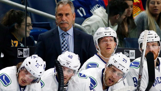 The Vancouver Canucks fired head coach Willie Desjardins on Monday.