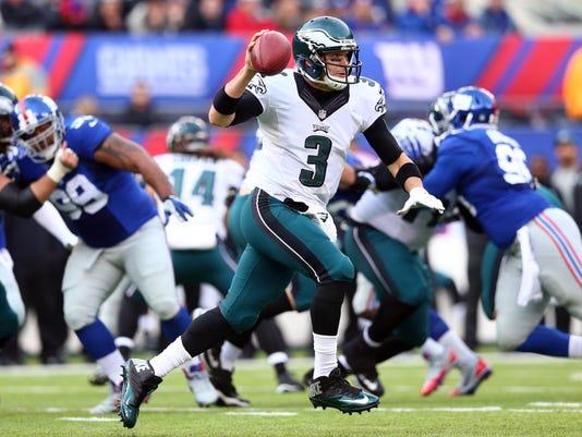 NFL: Philadelphia Eagles at New York Giants