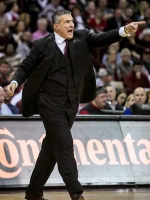 USC basketball coach Frank Martin.