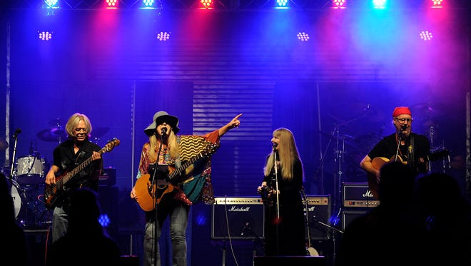 Soul Free Revival performs during Garage Band Woodstock 6 in August 2015 at the Taylor County Expo Center.