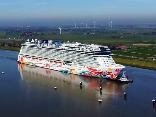 Norwegian Bliss New Norwegian Cruise Line Ship Nears Completion - Usa river cruises
