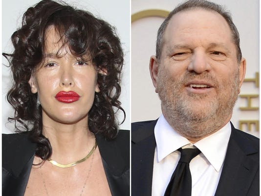 Paz de la Huerta,Harvey Weinstein
