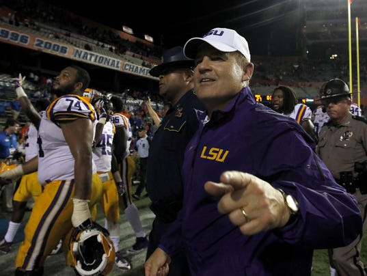NCAA Football: Louisiana State at Florida