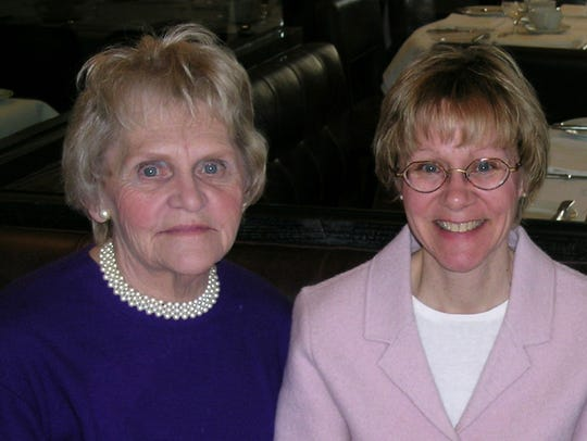 Susan Patrick's mother, Carol Blink (left), encouraged