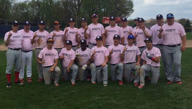 John Glenn's baseball team wore special pink jerseys during Saturday's Breast Cancer Awareness tournament.