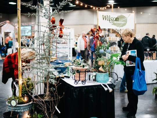 Shopping is part of the experience of attending Dogwood Arts' House & Garden Show.