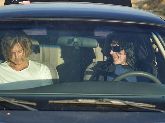 """Greg Sestero, left, and Tommy Wiseau in """"Best F(r)iends."""""""