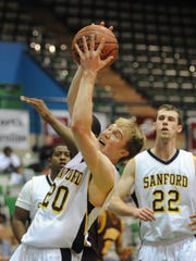 Former Sanford high and Syracuse University star Trevor Cooney was one of the many Delaware prep players to participate in the Governor's Challenge.
